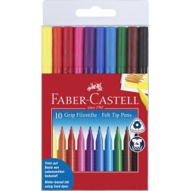 Faber-Castell Grip Tusser, 10 stk.