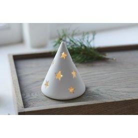 Janet LED keramikkegle, Hvid, Ø 7,5 cm