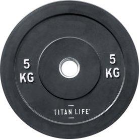 Titan Life Rubber Bumper Plate 5 kg