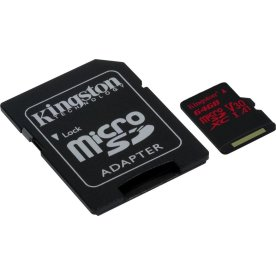 KINGSTON Canvas React 64GB microSDXC hukom.kort