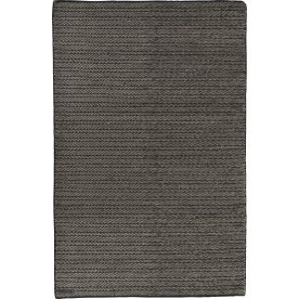 Wilma tæppe, 140x200 cm., sort