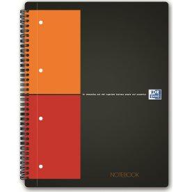 Oxford Int. Notebook Spiralbog A4+, kvadreret