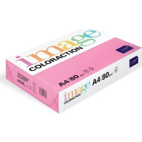 Image Coloraction A4, 80g, 500ark, rosa