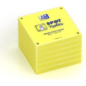 Oxford Sticky Notes 75x75 mm, gul