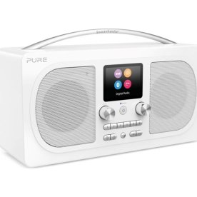 Pure Radio Evoke H6 Bluetooth m. FM/DAB/DAB+, Hvid