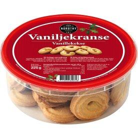 Nordthy Vaniljekranse i dåse, 225 g