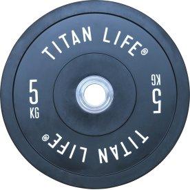 TITAN LIFE Elite bumper plate, 5 kg