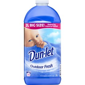 Dun-let Skyllemiddel, Outdoor Fresh, 2 L