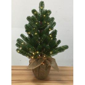 Juletræ 40 cm 30 LED lys