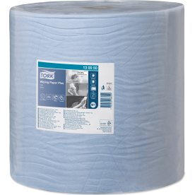 Tork W1 Plus Aftørringspapir, blå