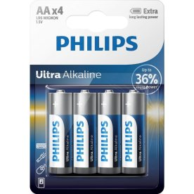 Philips Ultra Alkaline Batterier str. AA