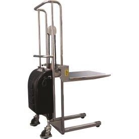 Mini-stabler m/ elektrisk løft, 80-1500mm, 400 kg