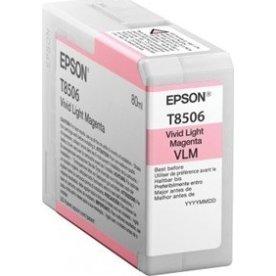 Epson T8506 blækpatron, lyserød