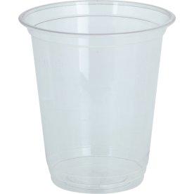 Komposterbart Drikkebæger, klar, PLA, 150 ml