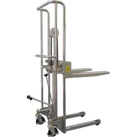 Mini-stabler m/manuelt løft, 80-1200mm, 400 kg
