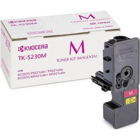 Kyocera TK-5230M lasertoner, magenta, 2200s