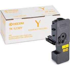Kyocera TK-5230Y lasertoner, gul, 2200s