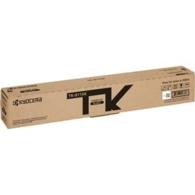 Kyocera TK-8115BK M8124 lasertoner, sort, 12000s