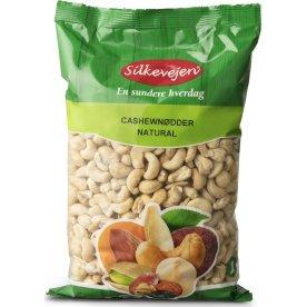 Silkevejen Cashew Nødder, natural, 1 kg