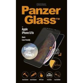 PanzerGlass CamSlider beskyttelse til iPhone X/Xs