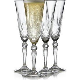 Champagneglas Melodia, 16 cl., 4 stk.