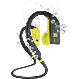 JBL Endurance DIVE hovedtelefoner, sort/lime