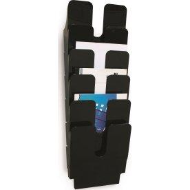 Durable Flexiplus Brochurestativ 6 A4 høj, sort
