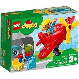 LEGO DUPLO 10908 Flyvemaskine, 2-5 år