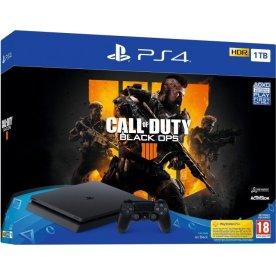 Sony Playstation 4 Slim Console, 1TB, Call of Duty