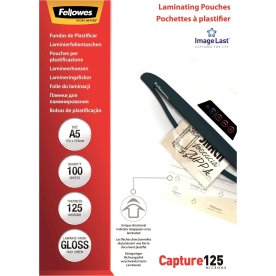 Fellowes Capture 125 mic A5 lamineringslomme gloss