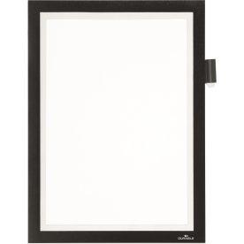 Durable Note Selvklæbende Inforamme A4, sort