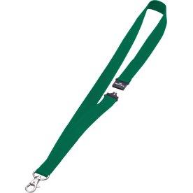 Durable Tekstil halsbånd 20 mm, grøn