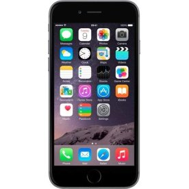 Brugt Apple iPhone 6, 16GB, space gray (B)