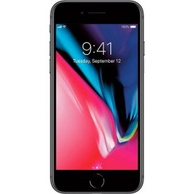 Brugt Apple iPhone 8, 64GB, Space Grey, (B)