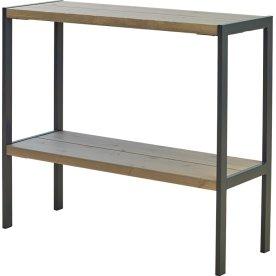 Funkis multibord, varmgalv., grå 103x37x90 cm