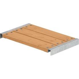 Plus Cubic bænk 60 cm, Lærketræ