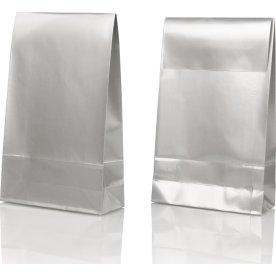 Gavepose large, sølv