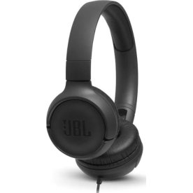 JBL Tune 500 on-ear hovedtelefoner i sort
