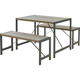 Plus Funkis Møbelsæt, gråbrun