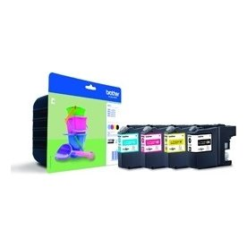 Brother LC221 value pack ink cartridgeblistered