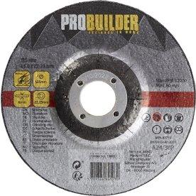 Probuilder slibeskive, 125 mm
