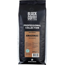 Black Coffee Roasters Amazonas helbønner, 1000g