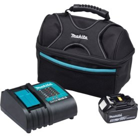 Makita Batteripakke 1 X BL1830B + 1 X DC18SD