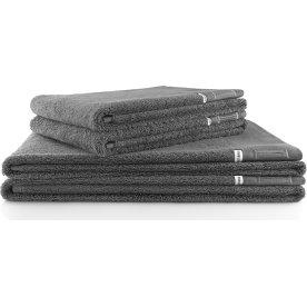 Eva Solo håndklæder, 2 stk. 50x100 & 2 stk. 70x140