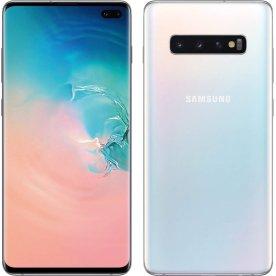 "Samsung Galaxy S10 128GB 6,1"" smartphone, hvid"