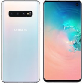 "Samsung Galaxy S10+ 128GB 6,4"", prism hvid"