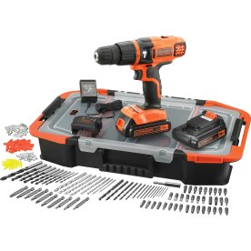 Black & Decker 18V 1,5A slagbor 2. batterier