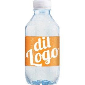 Logo vand med eget design 0,30 ltr. inkl. pant