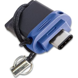 Verbatim Dual Drive USB/USB-C 32GB, sort