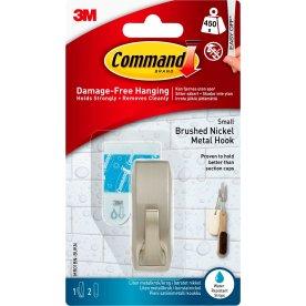 Command Metalkrog, satineret nikkel, lille